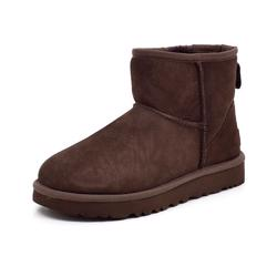 UGG Classic mini Kurzstiefel chocolate