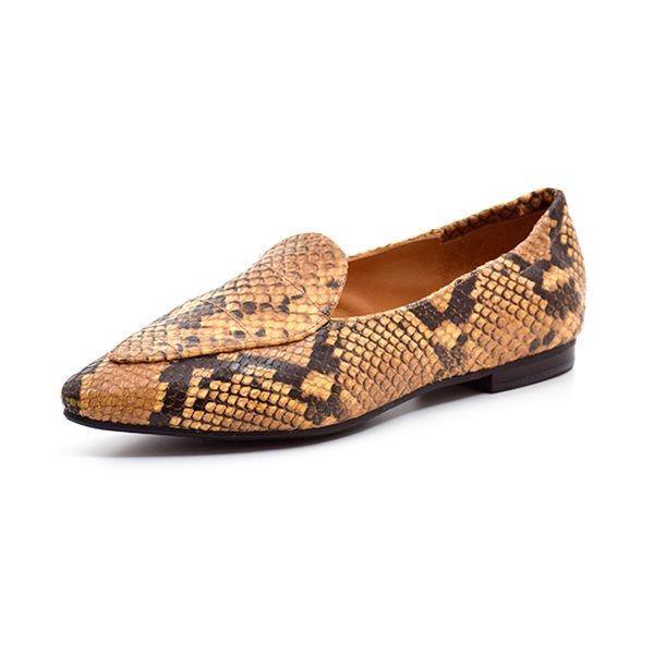 Billi Bi Loafer Snake, curry