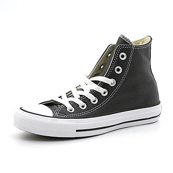Converse All Star Leder schwarz (Gr. 36 40)