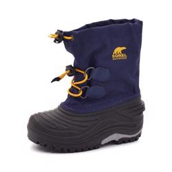 Sorel Super Trooper Winterstiefel navy/gelb