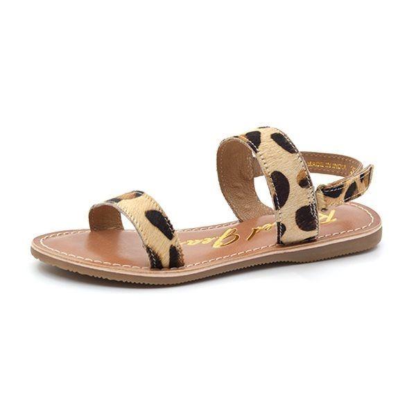 dernier chaussures pour pas cher comparer les prix Rugged Gear Santa Barbara Sandale, leopard