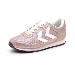 Hummel Reflex Low JR Sneakers, Glimmer rosa
