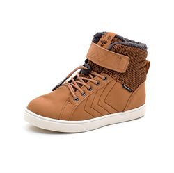 Hummel Splash JR TEX Winter Sneaker, cognac