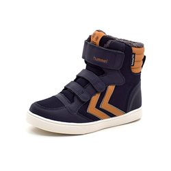 Hummel Stadil Super Poly TEX Boot mid JR Wintersneaker navy