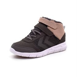 Hummel Crosslite Winter Mid JR Tex-sneaker grau/rosa