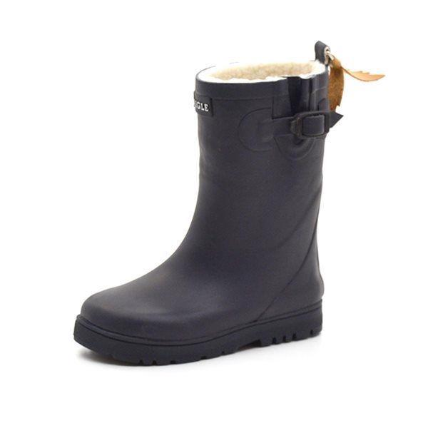 Aigle Woody pop fur Wintergummistiefel, marine