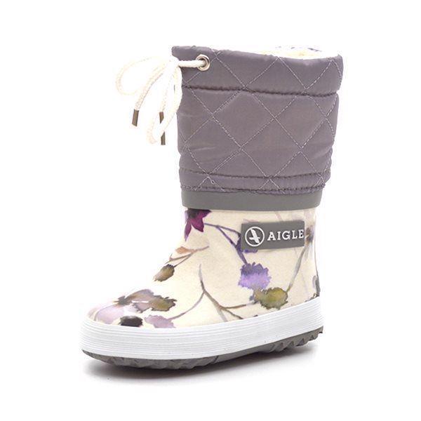 neuartiges Design 100% Zufriedenheitsgarantie Wählen Sie für neueste Aigle Giboulee Wintergummistiefel, wildflower