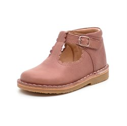 Petit Nord Ballerina Schuh Scallop, old rose