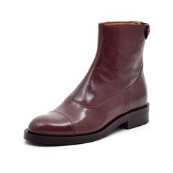 Billi Bi back zip Boot, bordeaux