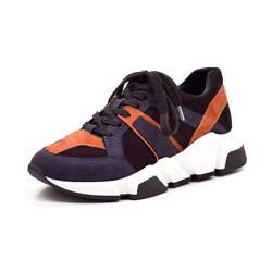 Billi Bi SPORT Sneakers, schwarz/navy/orange