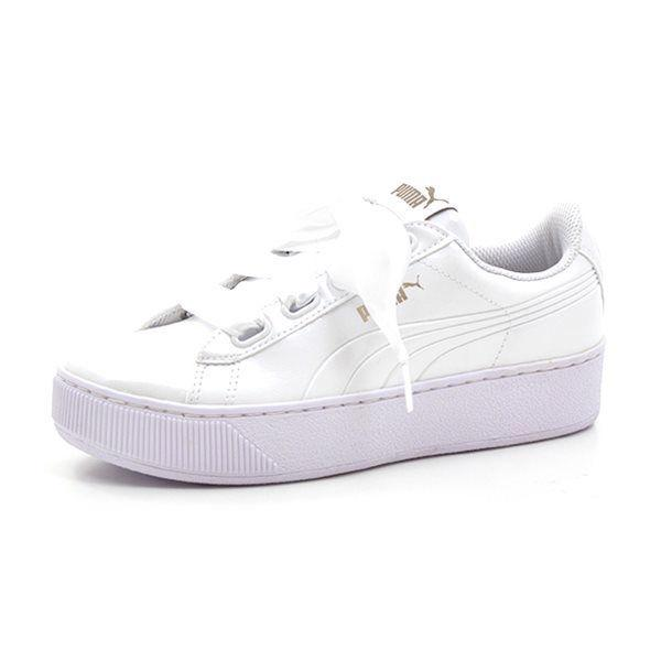 PUMA Vikky Creeper Sneakers, weiß