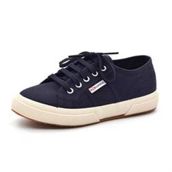 Superga Kids Classic Sneaker, navy