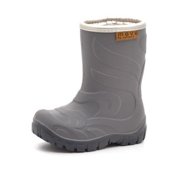 Move by Melton Thermo Gummistiefel grau/silber
