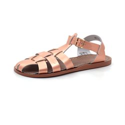 Salt Water Shark Sandale, rosegold