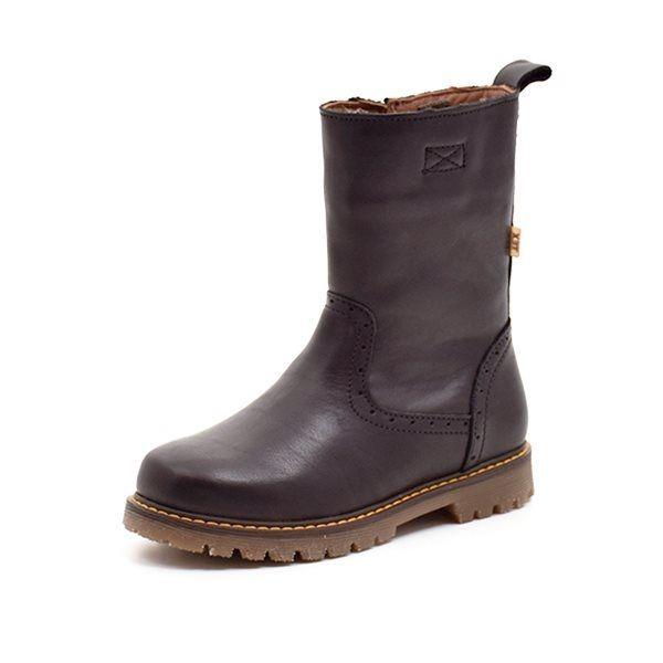 wie man kauft verschiedene Arten von bieten Rabatte Bisgaard Stiefel Lochmuster, schwarz