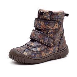 NEU Bisgaard Winterstiefel Stiefel Boots Gr. 32 navy blau Klett