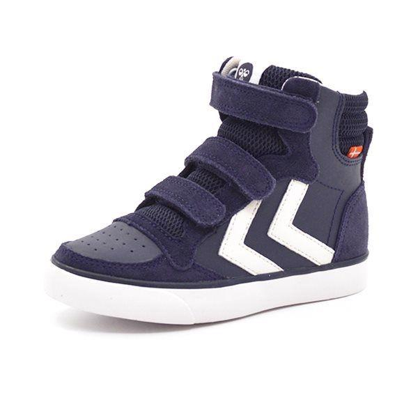 Hummel Stadil leather High Jr. Sneakers, navy