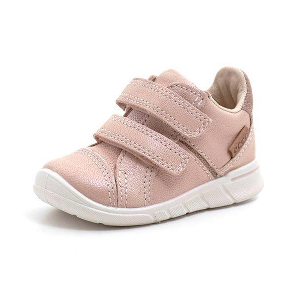 ECCO First Sneaker Klettschuh. rosa
