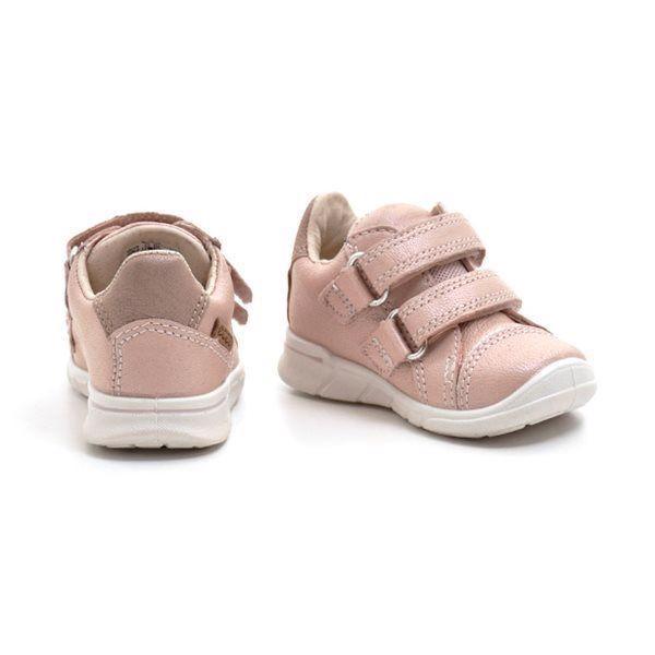 ECCO First Sneaker Klettschuh. rosa