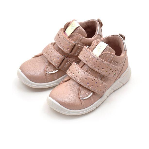 ECCO First sneaker Klettschuh Dots, rose