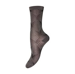 MP Denmark Socken m. Muster, falcon brown