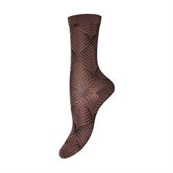 MP Denmark Socken m. Muster, rose blush