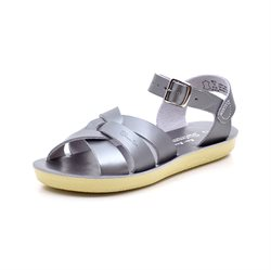 Salt Water Sandale, pewter