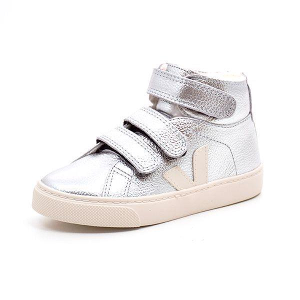 VEJA Junior Esplar Wintersneakers, silber