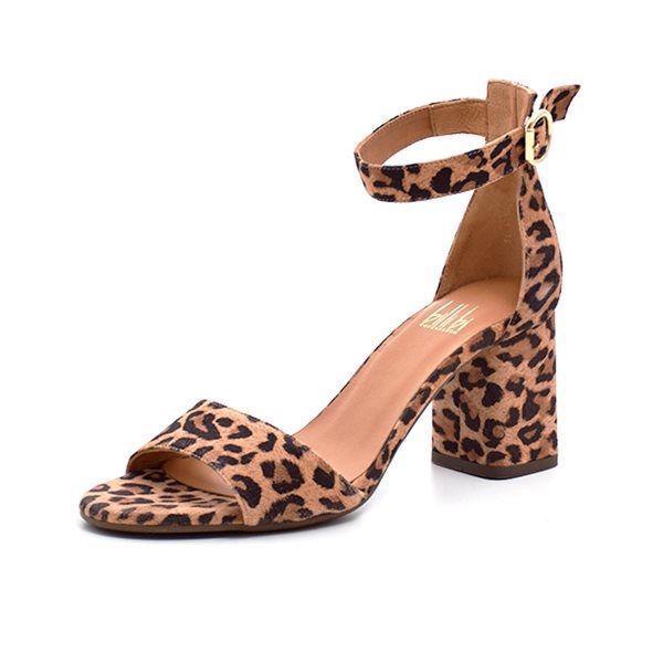 meilleure vente nouveau style et luxe section spéciale Billi Bi Sandale m. Blockabsatz, Leopard
