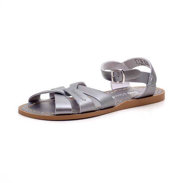 Salt Water Original Sandale, pewter