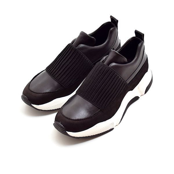 Billi Bi SPORT Slip in Sneakers, schwarz