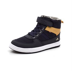 Viking Lukas WP  Wintersneaker, navy/gelb