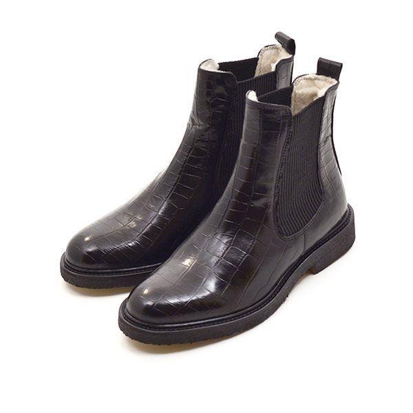 66a6498866a Billi Bi Chelsea Boot Stiefelette gefüttert, schwarz. Artikelnr.  97952.010.Black