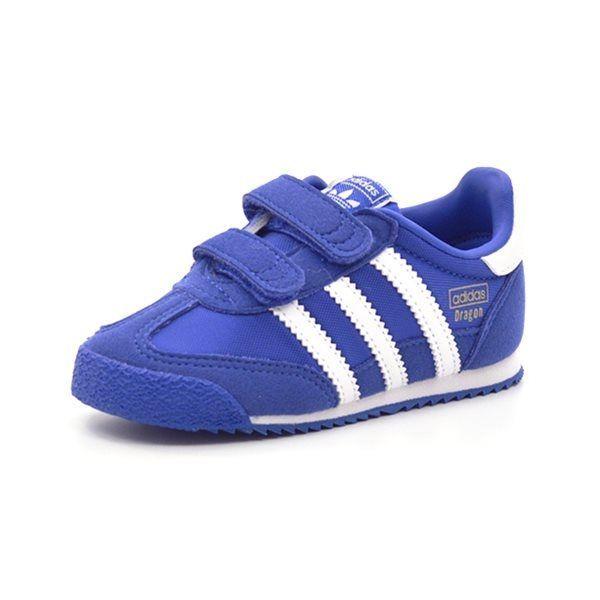 Adidas Dragon CF 1 Sneaker, blauweiß