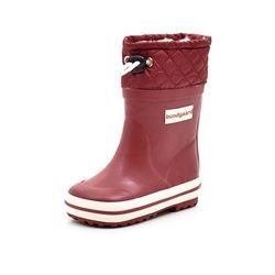 Bundgaard Wintergummistiefel Sailor Quilt, bordeaux