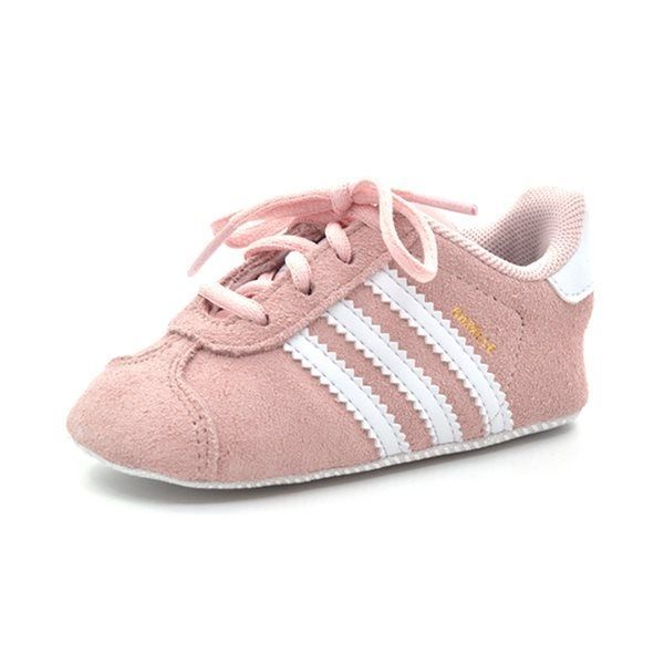 hot sale online 0bb42 ccbec Adidas Gazelle Crib Baby Sneaker, rosa