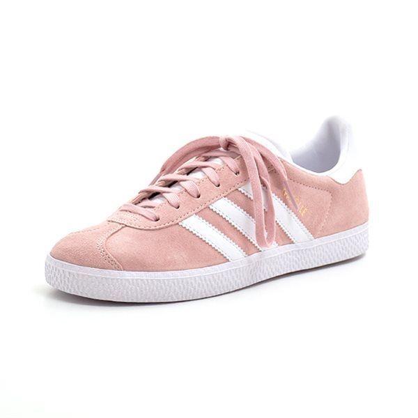 21046d93b42692 GrowingFeet.de - Adidas Gazelle J rosa weiß