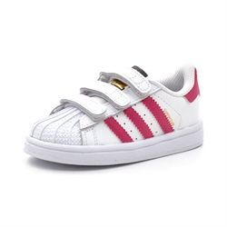 Adidas Superstar Foundation Cf 1 Sneaker weiß/pink