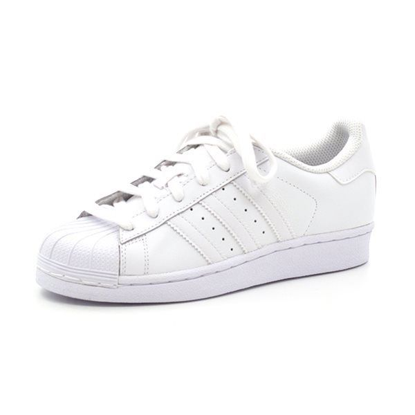 Adidas Superstar Foundation Sneaker, weiß/weiß