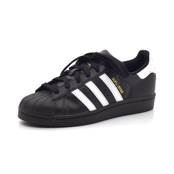Adidas Superstar Foundation Sneaker, schwarz/weiß