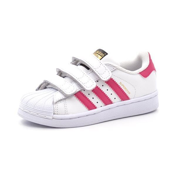 adidas superstars weiß pink