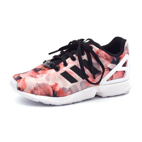 Adidas Floral Shoes Zx Flux