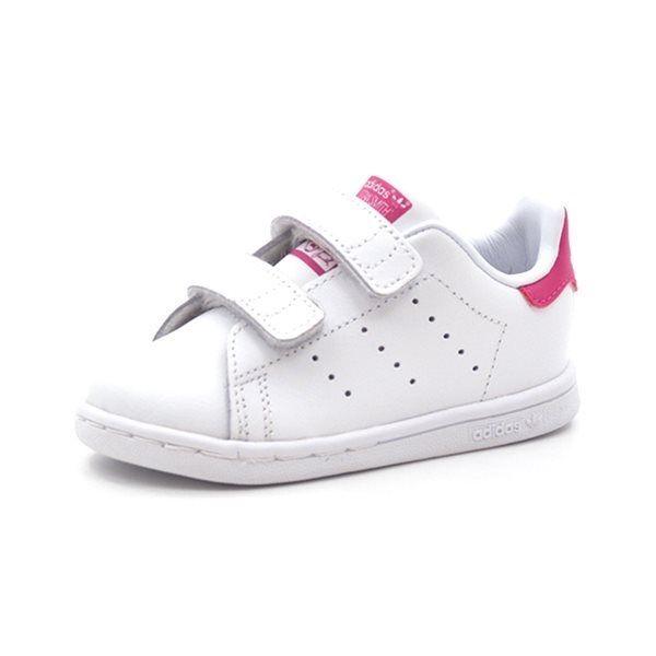 Adidas Stan Smith CF 1 Sneaker, weißpink