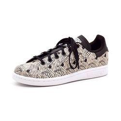 nett Details zu adidas STAN SMITH weissgrün Sneaker Schuhe