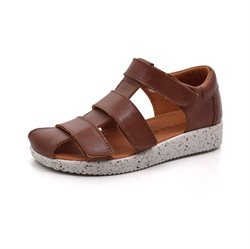 Nature Footwear Birk KIDS Sandale, braun