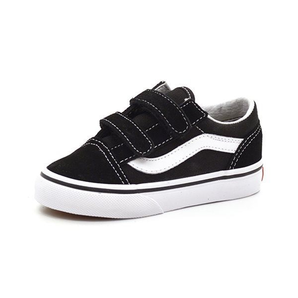 VANS Old Skool Sneaker Klettverschluss, schwarz