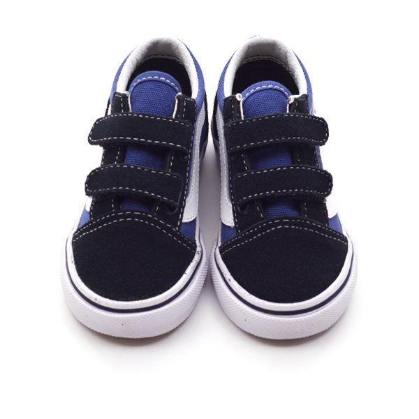 VANS Old Skool Sneaker Klettverschluss, navy