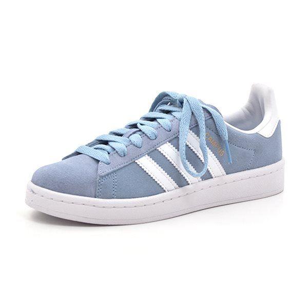 5855f8e34ccd91 GrowingFeet.de - Adidas Campus J. Sneaker hellblaur