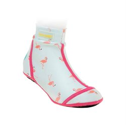 Duukies UV-Schutz Strandsocken, Flamingo mint