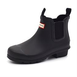 Hunter Kids J Chelsea boot Gummistiefel, schwarz